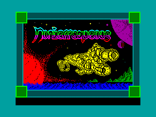 Nonterraqueous — ZX SPECTRUM GAME ИГРА