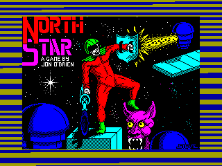 NORTH STAR — ZX SPECTRUM GAME ИГРА