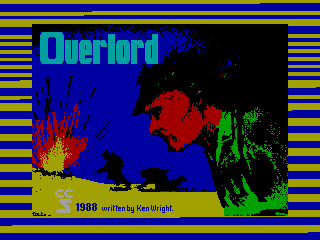 OVERLORD — ZX SPECTRUM GAME ИГРА