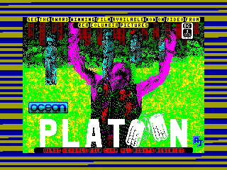 PLATOON — ZX SPECTRUM GAME ИГРА