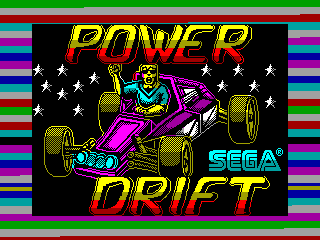 Power Drift — ZX SPECTRUM GAME ИГРА