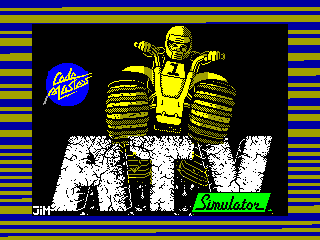 ATV Simulator — ZX SPECTRUM GAME ИГРА