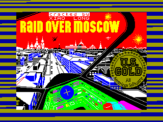 Raid over Moscow — ZX SPECTRUM GAME ИГРА