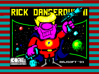 Rick Dangerous 2 — ZX SPECTRUM GAME ИГРА