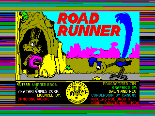 ROAD RUNNER — ZX SPECTRUM GAME ИГРА