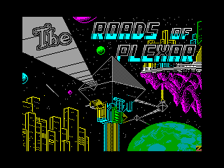 ROADS OF PLEXAR — ZX SPECTRUM GAME ИГРА