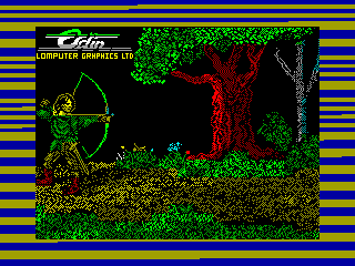 Robin of Sherwood: The Touchstones of Rhiannon — ZX SPECTRUM GAME ИГРА