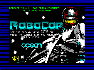 ROBOCOP — ZX SPECTRUM GAME ИГРА