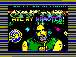 Rock Star Ate My Hamster — ZX SPECTRUM GAME ИГРА