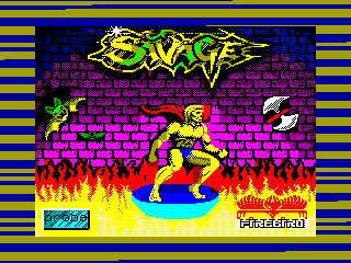 Savage — ZX SPECTRUM GAME ИГРА