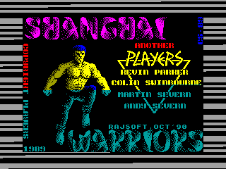 Shanghai Warriors — ZX SPECTRUM GAME ИГРА