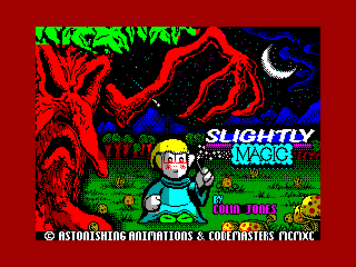 Slightly Magic — ZX SPECTRUM GAME ИГРА