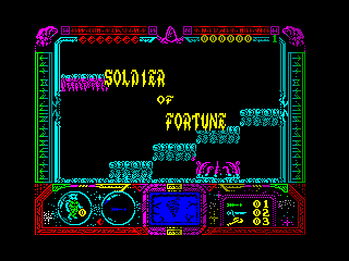 Soldier of Fortune — ZX SPECTRUM GAME ИГРА