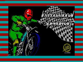 SPEEDWAY INTERNATIONAL — ZX SPECTRUM GAME ИГРА