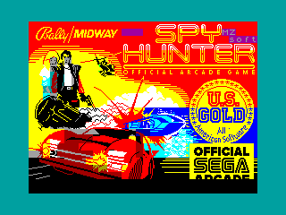 Spy Hunter — ZX SPECTRUM GAME ИГРА