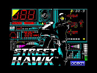 Street Hawk — ZX SPECTRUM GAME ИГРА