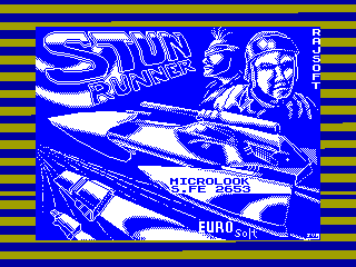 S.T.U.N. Runner — ZX SPECTRUM GAME ИГРА