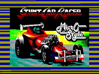 Stunt Car Racer — ZX SPECTRUM GAME ИГРА