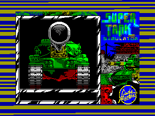 SUPER TANK SIMULATOR — ZX SPECTRUM GAME ИГРА