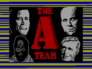 A TEAM — ZX SPECTRUM GAME ИГРА