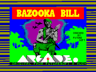 Bazooka Bill — ZX SPECTRUM GAME ИГРА