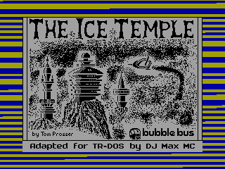 Ice Temple, The — ZX SPECTRUM GAME ИГРА