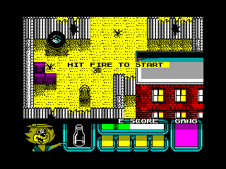 Top Cat in Beverly Hills Cats — ZX SPECTRUM GAME ИГРА