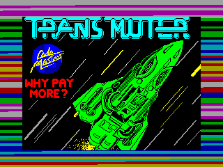 Transmuter — ZX SPECTRUM GAME ИГРА