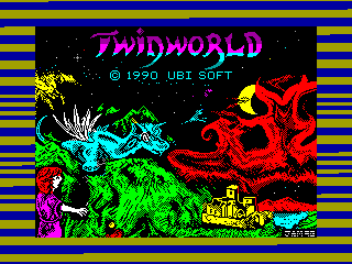 Twin World — ZX SPECTRUM GAME ИГРА