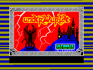 UNDERWURDLE — ZX SPECTRUM GAME ИГРА
