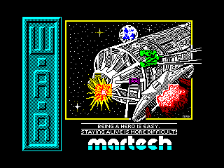 WAR — ZX SPECTRUM GAME ИГРА