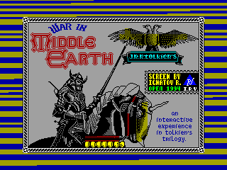 War in Middle Earth — ZX SPECTRUM GAME ИГРА