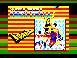 World Series Basketball — ZX SPECTRUM GAME ИГРА