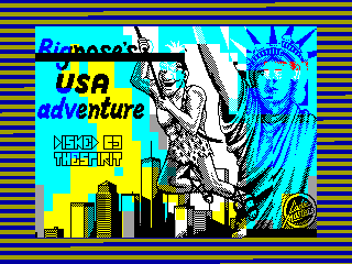 Big Nose's American Adventure — ZX SPECTRUM GAME ИГРА