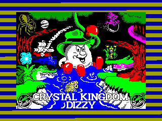 Crystal Kingdom Dizzy — ZX SPECTRUM GAME ИГРА