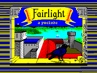 FAIRLIGHT 1 — ZX SPECTRUM GAME ИГРА
