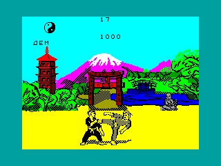 FIST — ZX SPECTRUM GAME ИГРА