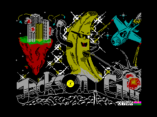 Jackson City — ZX SPECTRUM GAME ИГРА