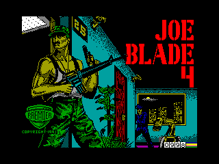 JOE BLADE 4 — ZX SPECTRUM GAME ИГРА