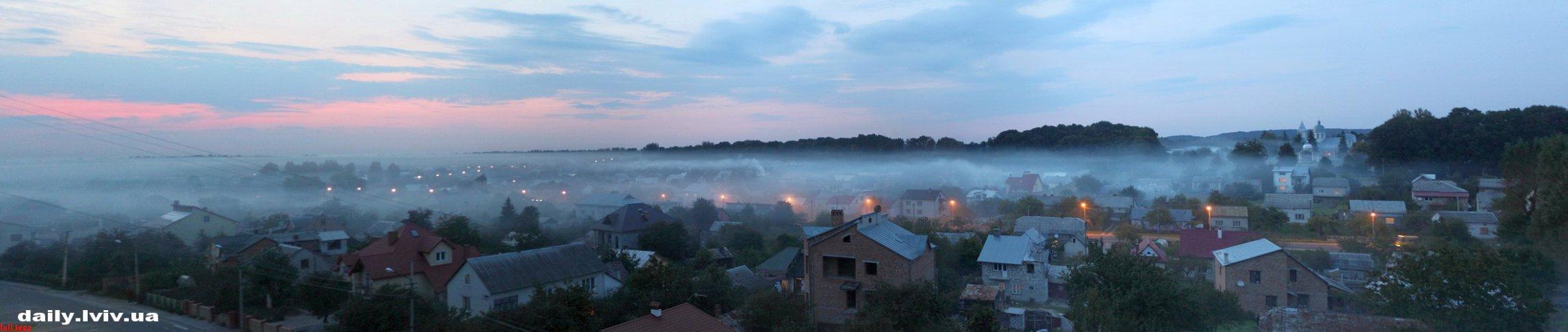 «Осенний туман». ФОТО