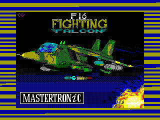 F-16 Fighting Falcon — ZX SPECTRUM GAME ИГРА