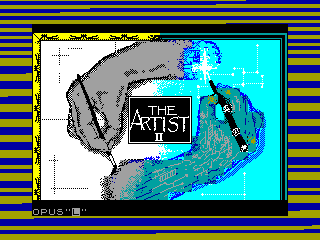 ARTIST II — ZX SPECTRUM GAME ИГРА