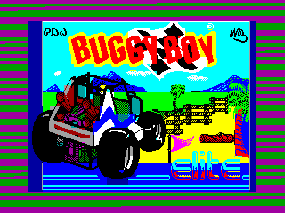 Buggy Boy — ZX SPECTRUM GAME ИГРА