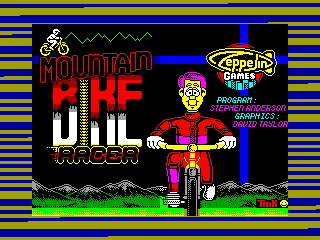Mountain Bike Racer — ZX SPECTRUM GAME ИГРА