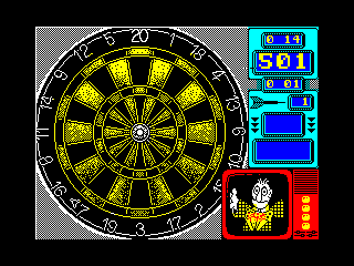 Wacky Darts — ZX SPECTRUM GAME ИГРА