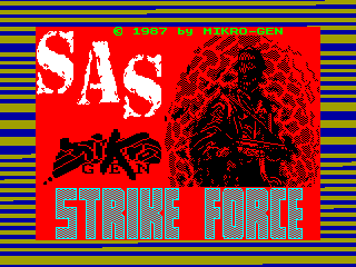 Strike Force SAS — ZX SPECTRUM GAME ИГРА