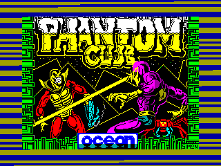 Phantom Club — ZX SPECTRUM GAME ИГРА