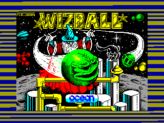 Wizball — ZX SPECTRUM GAME ИГРА