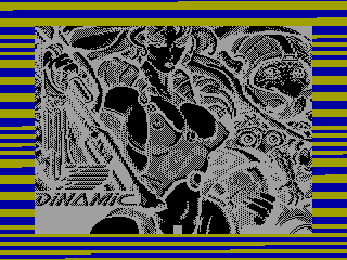 PHANTIS 1 — ZX SPECTRUM GAME ИГРА