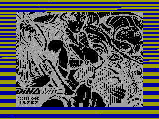 PHANTIS 2 — ZX SPECTRUM GAME ИГРА